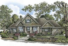 House Plan Design - Craftsman Exterior - Front Elevation Plan #929-803