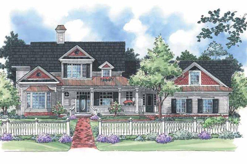 Victorian Exterior - Front Elevation Plan #930-197 - Houseplans.com