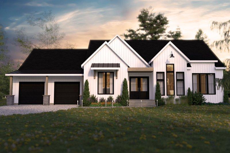 Dream House Plan - Farmhouse Exterior - Front Elevation Plan #23-2737