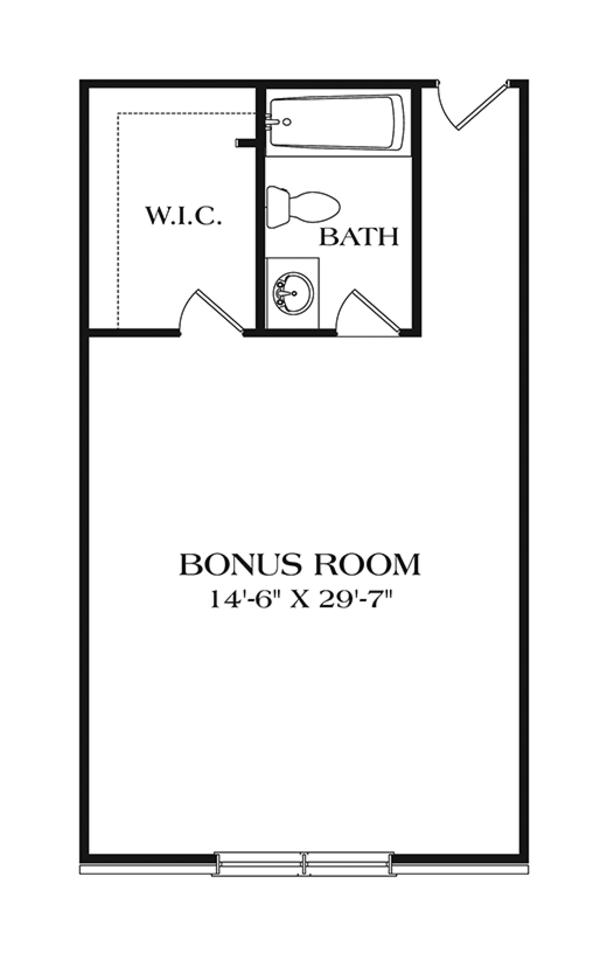 Home Plan - Ranch Floor Plan - Other Floor Plan #453-632