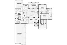 European Floor Plan - Main Floor Plan Plan #17-3379