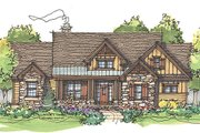 Craftsman Style House Plan - 4 Beds 4 Baths 2576 Sq/Ft Plan #929-936
