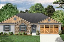 House Design - Traditional Exterior - Front Elevation Plan #84-454