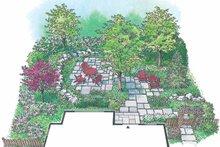 Exterior - Rear Elevation Plan #1040-106