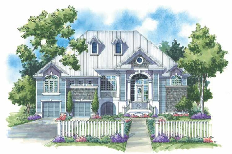 Traditional Exterior - Front Elevation Plan #930-153 - Houseplans.com