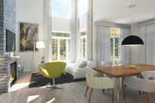 Modern Interior - Family Room Plan #23-2308