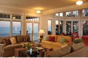 Craftsman Style House Plan - 4 Beds 3.5 Baths 3719 Sq/Ft Plan #928-175 Interior - Family Room