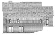 European Style House Plan - 4 Beds 3.5 Baths 4678 Sq/Ft Plan #1057-2 Exterior - Other Elevation