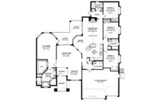 Craftsman Floor Plan - Main Floor Plan Plan #1058-47