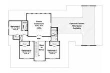 Country Floor Plan - Upper Floor Plan Plan #21-323