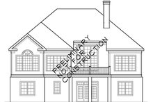 House Plan Design - Country Exterior - Rear Elevation Plan #927-904