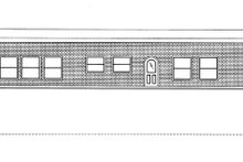 Architectural House Design - Contemporary Exterior - Front Elevation Plan #117-853