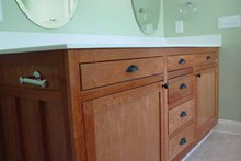 House Plan Design - Craftsman Interior - Master Bathroom Plan #939-1