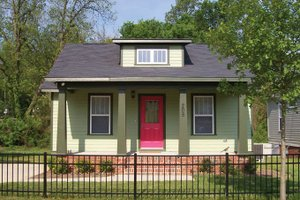 House Plan Design - Craftsman Exterior - Front Elevation Plan #936-23