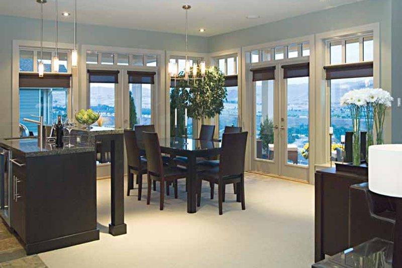 Craftsman Interior - Dining Room Plan #929-872 - Houseplans.com