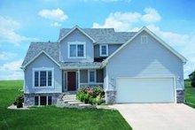 Traditional Exterior - Front Elevation Plan #20-476
