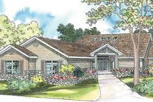Dream House Plan - Ranch Exterior - Front Elevation Plan #124-340