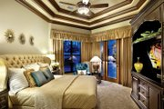 Mediterranean Style House Plan - 4 Beds 5 Baths 3777 Sq/Ft Plan #930-21 Interior - Bedroom