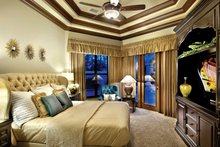 Home Plan - Mediterranean Interior - Bedroom Plan #930-21
