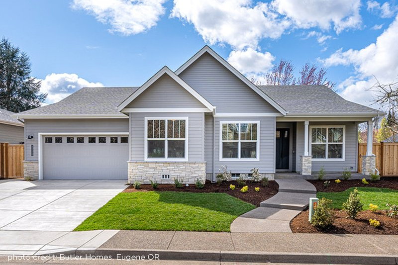 Home Plan - Ranch Exterior - Front Elevation Plan #124-1194