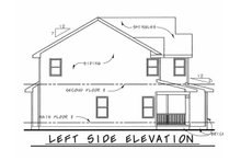 Dream House Plan - Traditional Exterior - Other Elevation Plan #20-1769