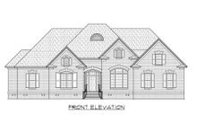 House Design - European Exterior - Front Elevation Plan #1054-54