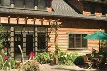 Dream House Plan - Craftsman Exterior - Outdoor Living Plan #48-364