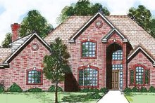 House Design - Traditional Exterior - Front Elevation Plan #52-272
