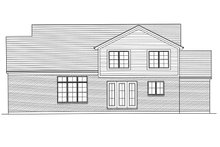 Architectural House Design - Country Exterior - Rear Elevation Plan #46-880