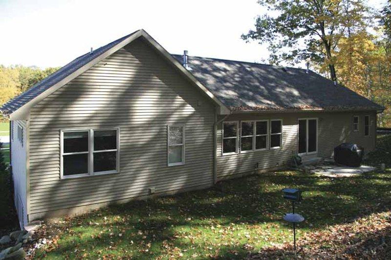 Craftsman Exterior - Rear Elevation Plan #928-134 - Houseplans.com