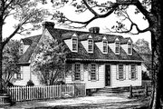 Colonial Style House Plan - 3 Beds 2.5 Baths 2968 Sq/Ft Plan #137-281 Exterior - Other Elevation