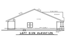 House Plan Design - Tudor Exterior - Other Elevation Plan #20-2447