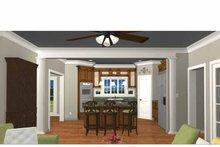 Colonial Interior - Kitchen Plan #44-205
