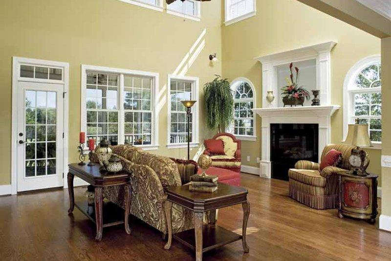Country Interior - Family Room Plan #929-657 - Houseplans.com