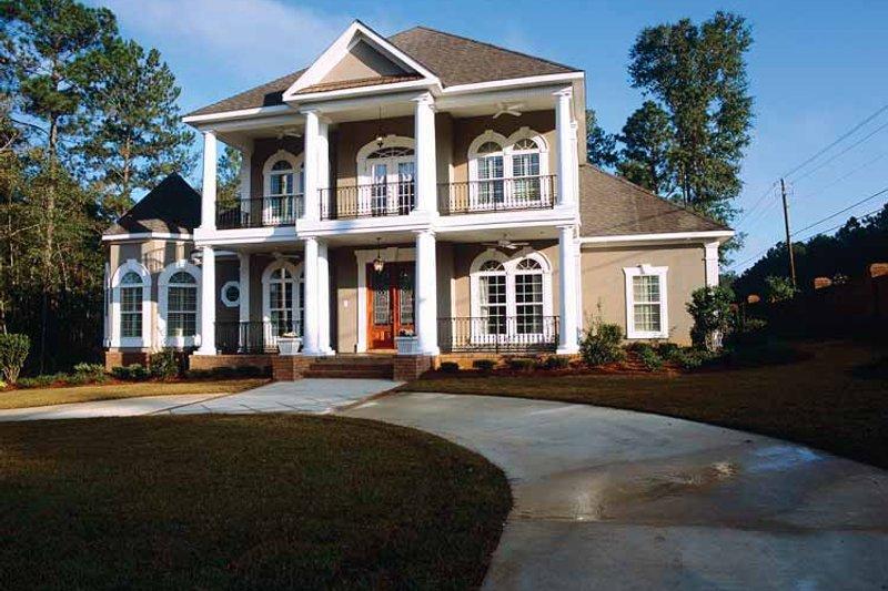 Classical Exterior - Front Elevation Plan #37-275 - Houseplans.com