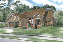 Mediterranean Exterior - Front Elevation Plan #17-2919