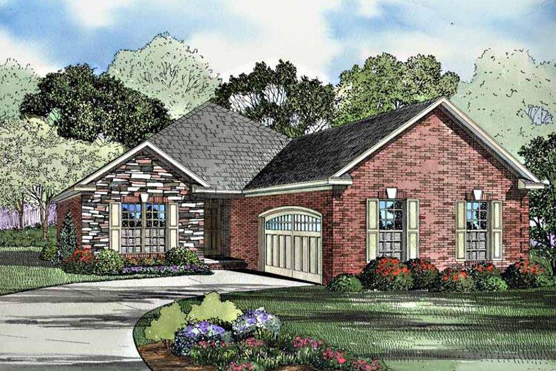 House Plan Design - Ranch Exterior - Front Elevation Plan #17-3187