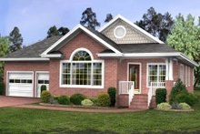 Dream House Plan - Southern Exterior - Front Elevation Plan #56-231