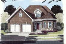 Contemporary Exterior - Front Elevation Plan #46-771