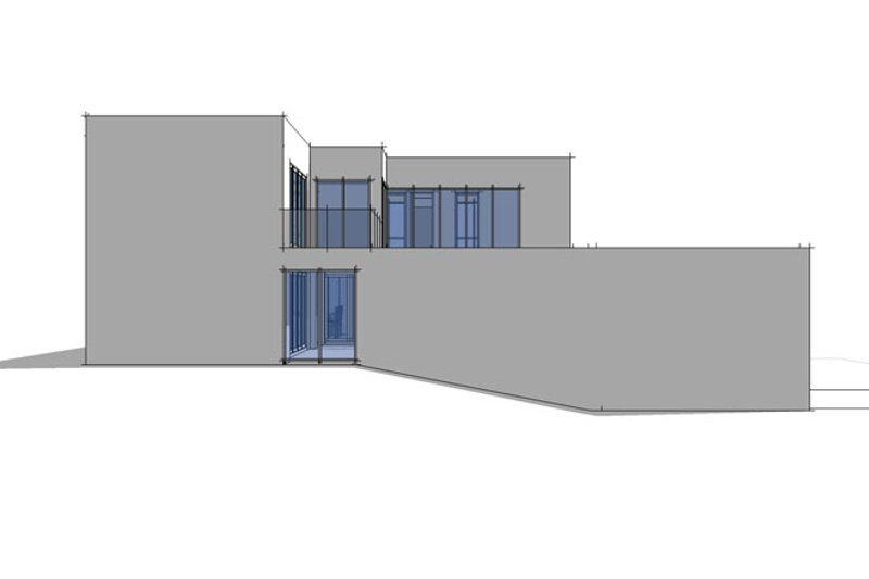 Contemporary Exterior - Other Elevation Plan #64-307 - Houseplans.com
