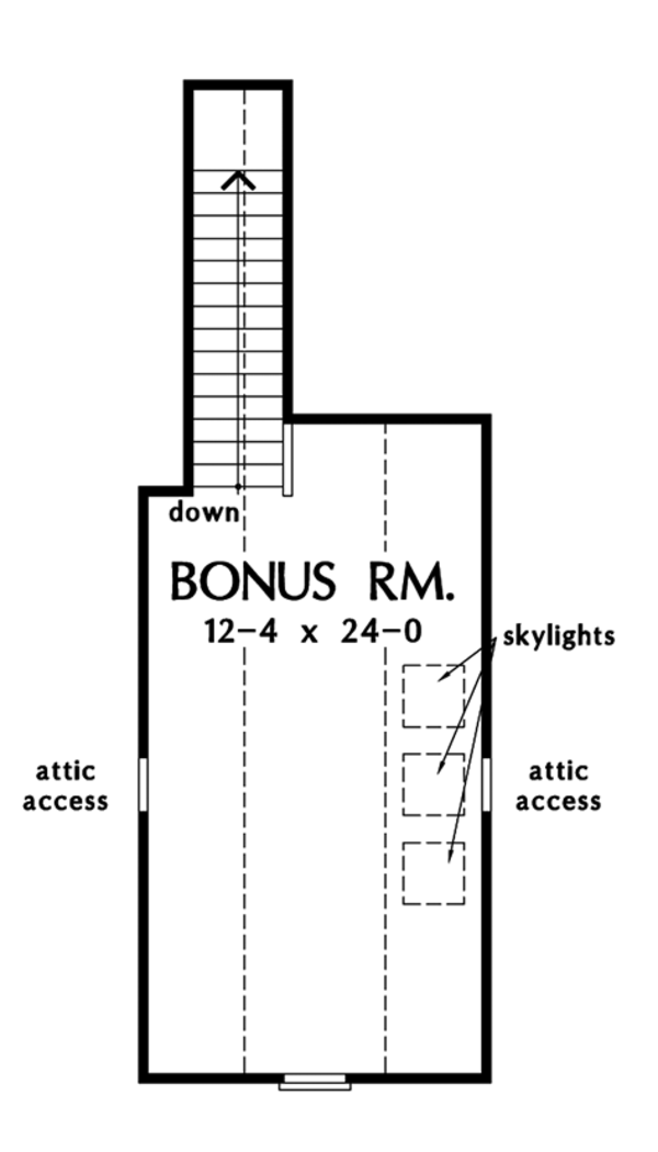 Ranch Floor Plan - Other Floor Plan Plan #929-991