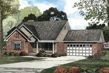 Home Plan - Traditional Exterior - Front Elevation Plan #17-2888