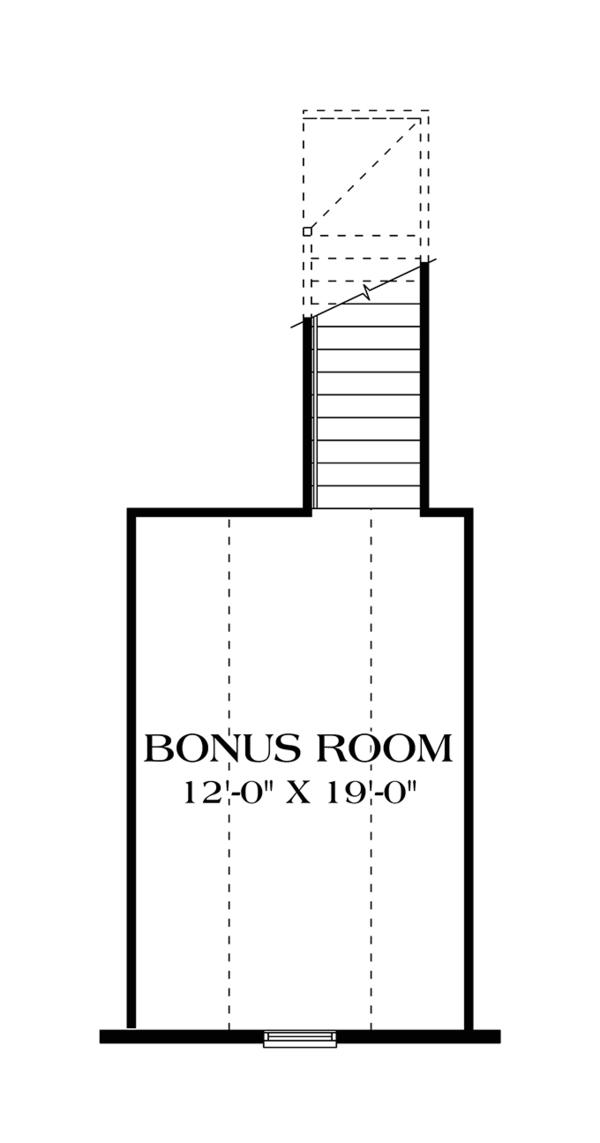 Craftsman Floor Plan - Other Floor Plan #453-615