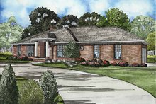 House Plan Design - Ranch Exterior - Front Elevation Plan #17-3165
