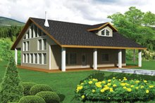 Architectural House Design - Contemporary Exterior - Front Elevation Plan #117-860