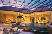 Mediterranean Style House Plan - 3 Beds 4.5 Baths 6340 Sq/Ft Plan #930-319 Exterior - Rear Elevation