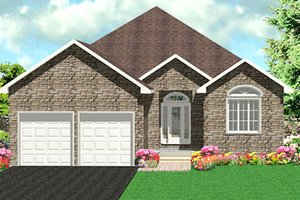 Traditional Exterior - Front Elevation Plan #414-128