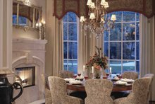 Home Plan - Mediterranean Interior - Dining Room Plan #417-557
