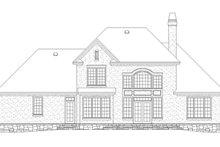 Traditional Exterior - Rear Elevation Plan #929-782