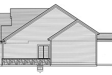 House Plan Design - Country Exterior - Other Elevation Plan #46-867